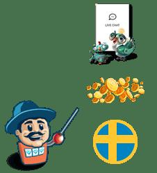 Lär dig om svenska casinon