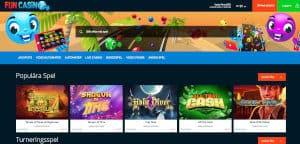 Fun Casino bjuder på 1000 kr bonus!